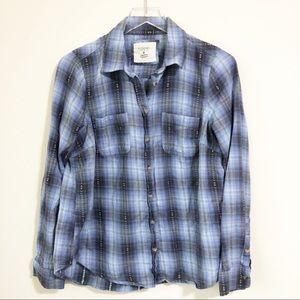 🌸 Sonoma | Western Style Plaid Shirt